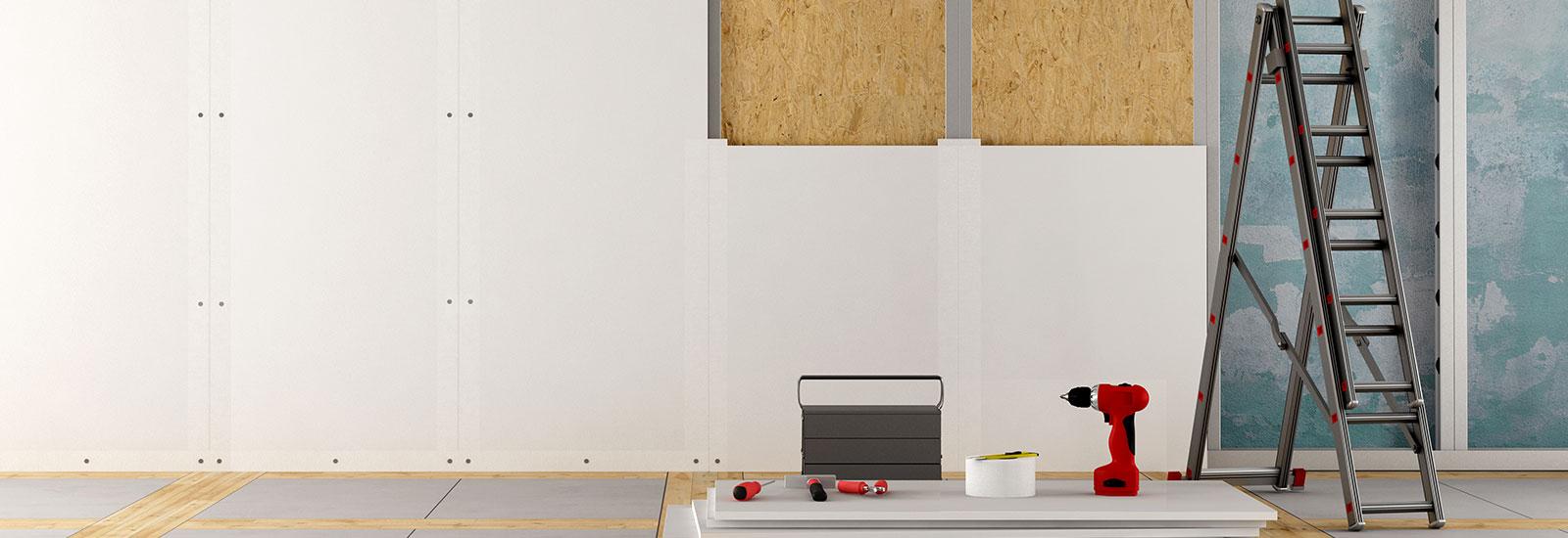 platrerie la fl che travaux isolation le lude. Black Bedroom Furniture Sets. Home Design Ideas